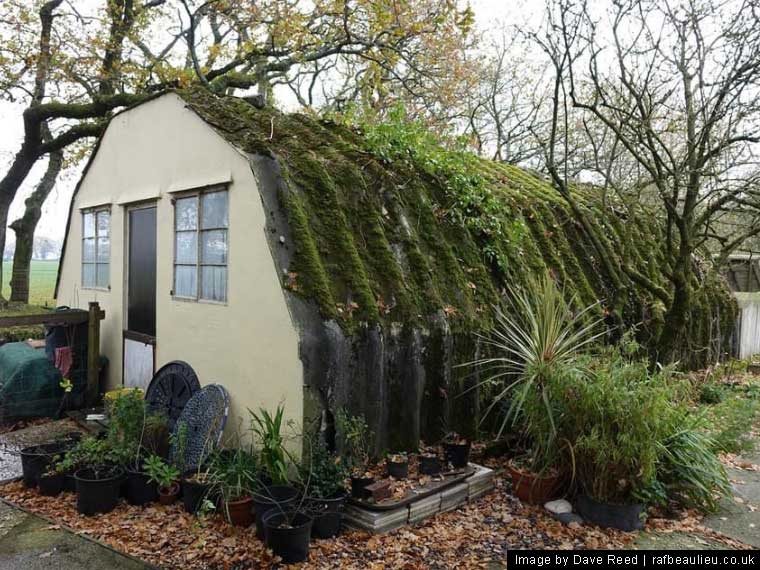 handcraft hut officers quarters at raf beaulieu site 5
