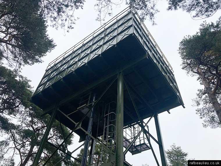 raf beaulieu water tower