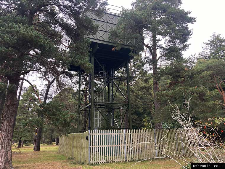roundhill campsite water tower