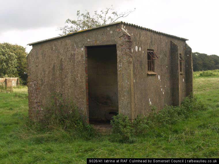 9026/41 airfield latrine from ww2