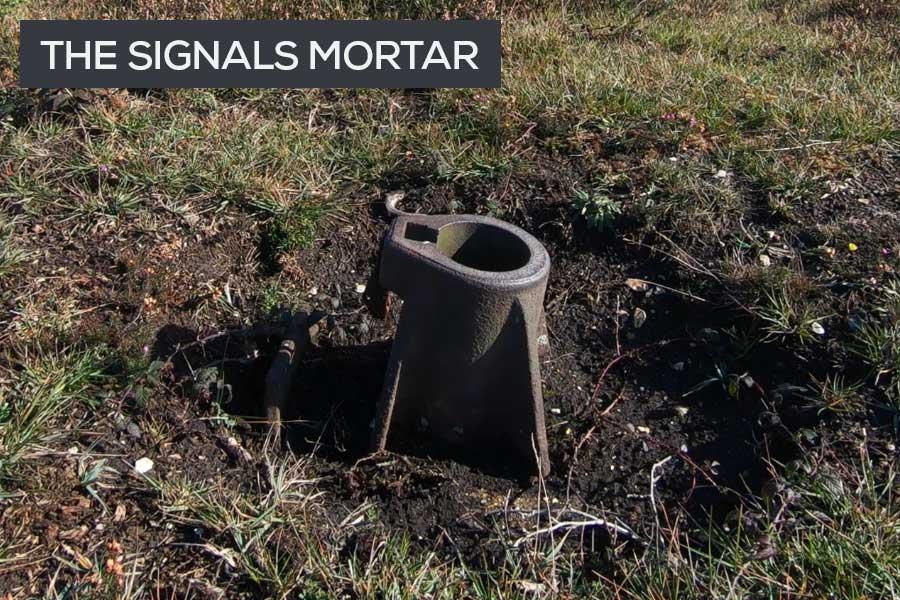 RAF Beaulieu signals mortar