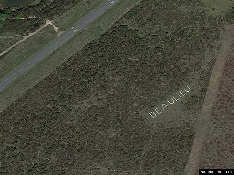 Beaulieu airfield letters
