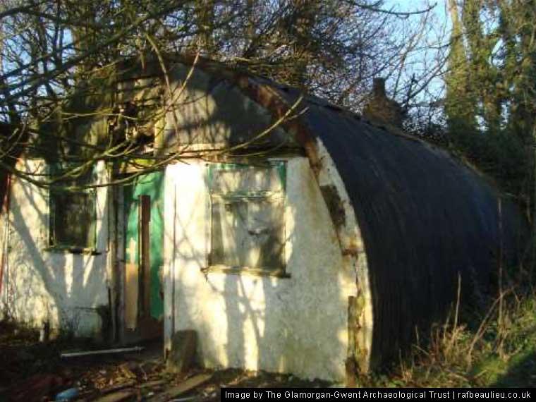 defence hut at RAF Llandow Wales