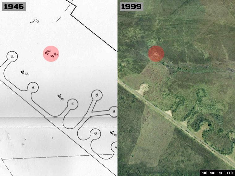 RAF Beaulieu defence huts