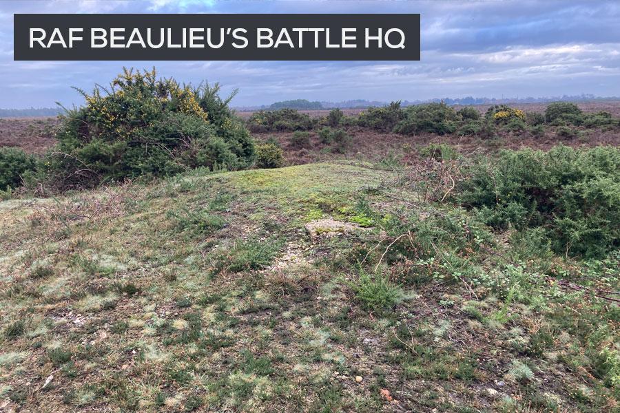 RAF Beaulieu Battle headquarters