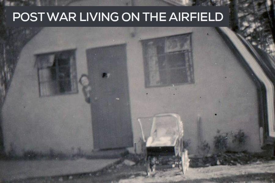 post war families living on RAF Beaulieu