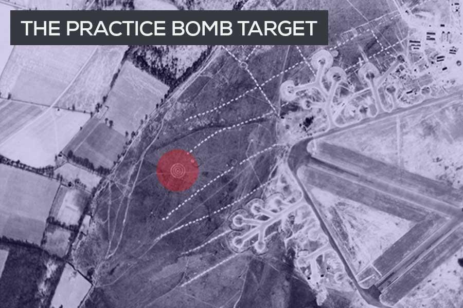RAF Beaulieu Practice Bombing target