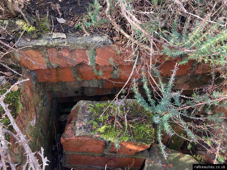 brick hole in the ground