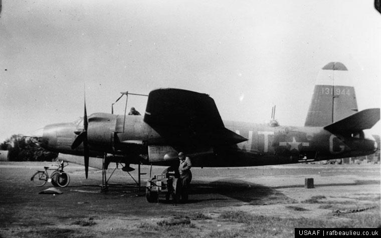 b-26 marauder bomber at Earls Colne Airfield