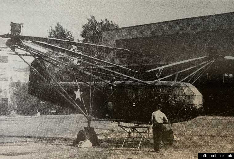American drache helicopter