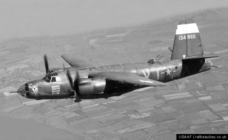 b-26 bomber from beaulieu
