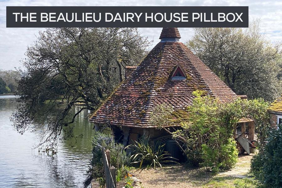Beaulieu dairy house pillbox