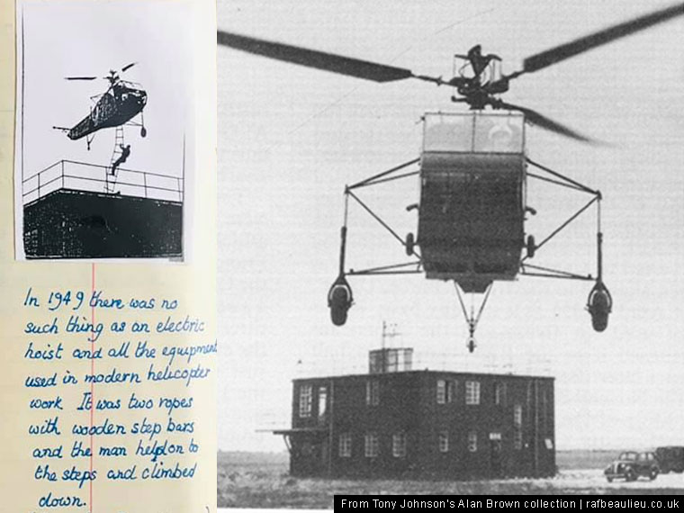 afee helicopter test