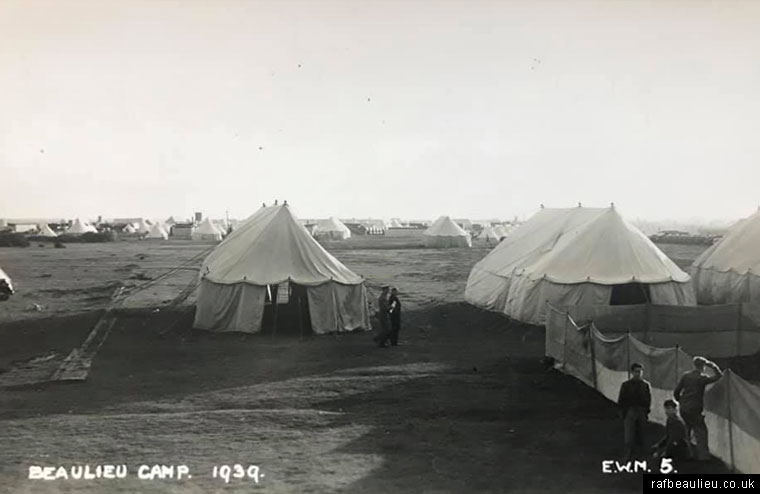 east boldre camp and tents