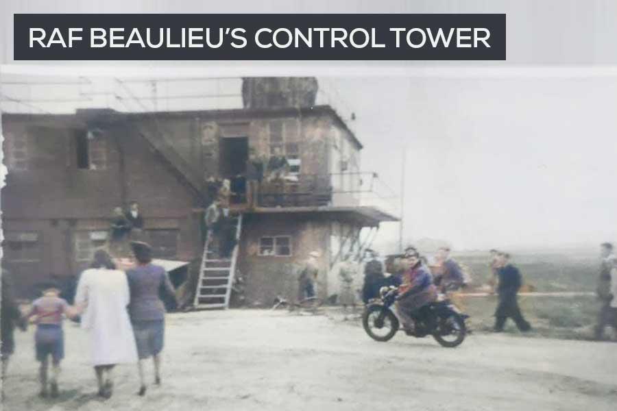 RAF Beaulieu control tower