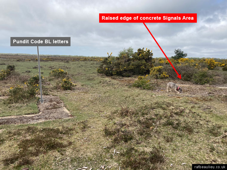airfield signals area