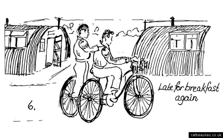 bicycle at RAF Beaulieu