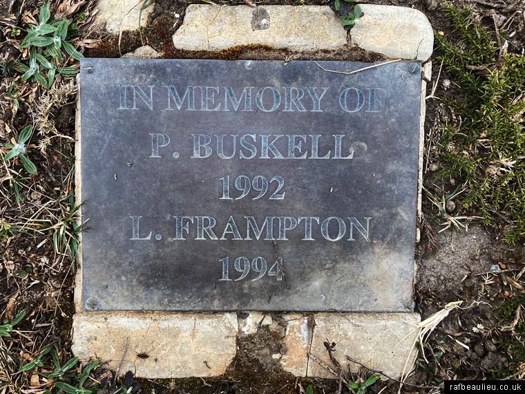 buskell and Frampton RAF Beaulieu