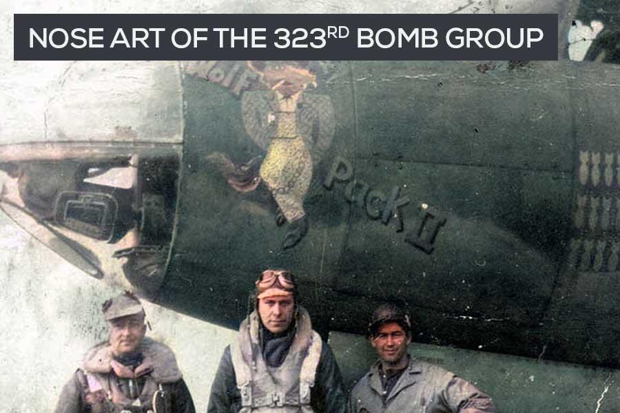 nose art of b-26 bombers