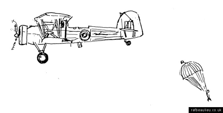 parachute drop AFEE Beaulieu by Alan Brown