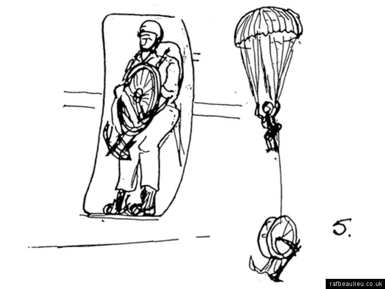 parachute jump sketch