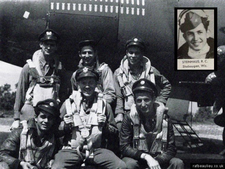 Robert Steinhaus and USAAF crew