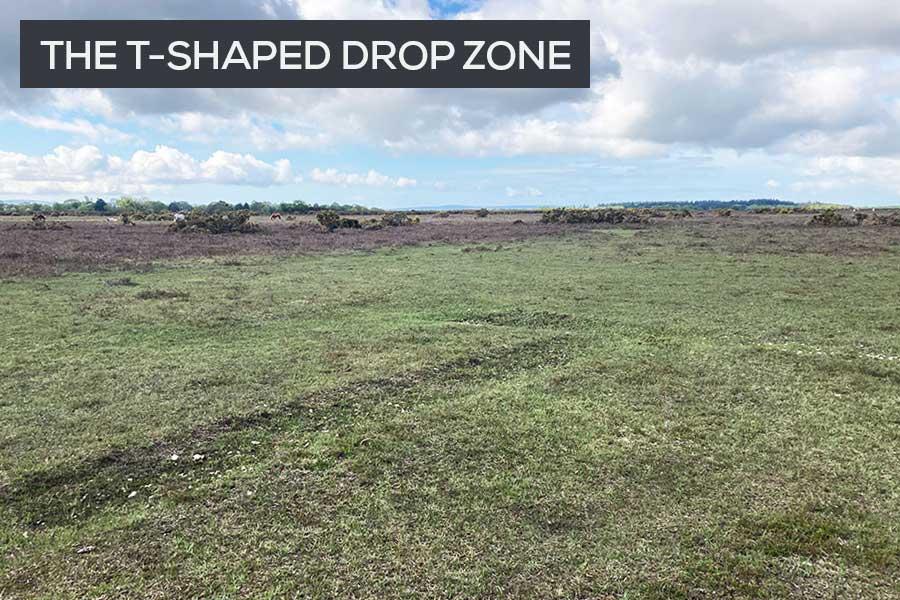 t shaped drop zone east boldre