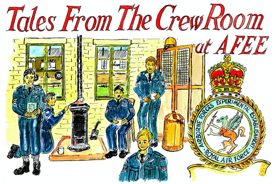 tales from the crew room by Alan Brown