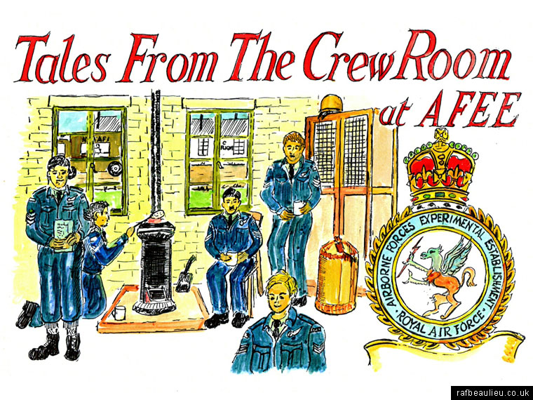 tales from the crew room afee RAF Beaulieu Alan Brown cover