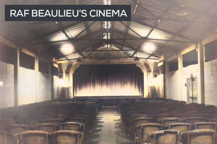 RAF Beaulieu cinema