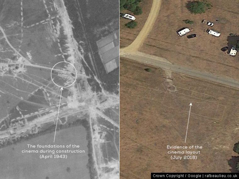 evidence of the airfield cinema
